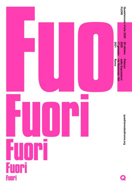 immagine Quadriennale d'arte Roma 2020 Fuori