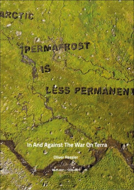 In And Against The War On Terra locandina mostra