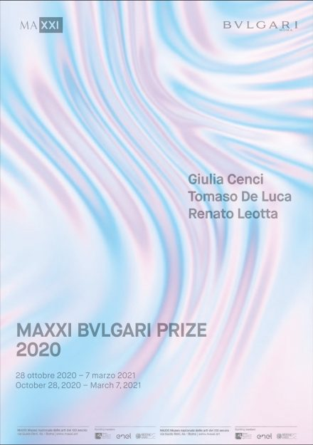 Maxxi - Bvlgari Prize locandina mostra