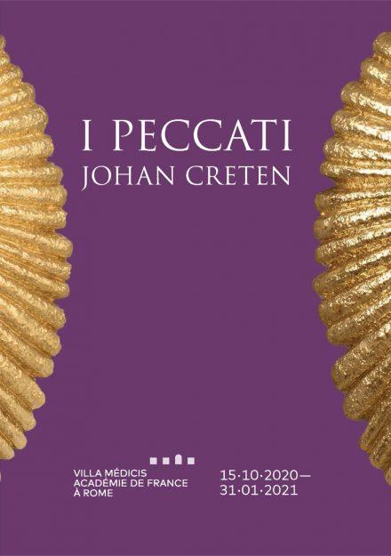 Villa Medicic - Johan Creten locandina mostra