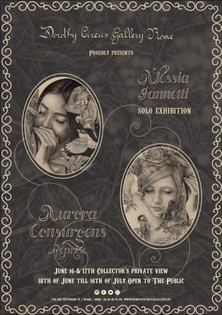 locandina Dorothy Circus Gallery - Alessia Iannetti - Aurora Consurgens