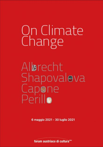 locandina ON CLIMATE CHANGE