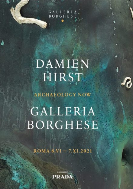 locandina Galleria Borghese - Damien Hirst - Archaeology Now.png
